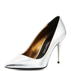 TOM FORD MIRRORED PUMPS